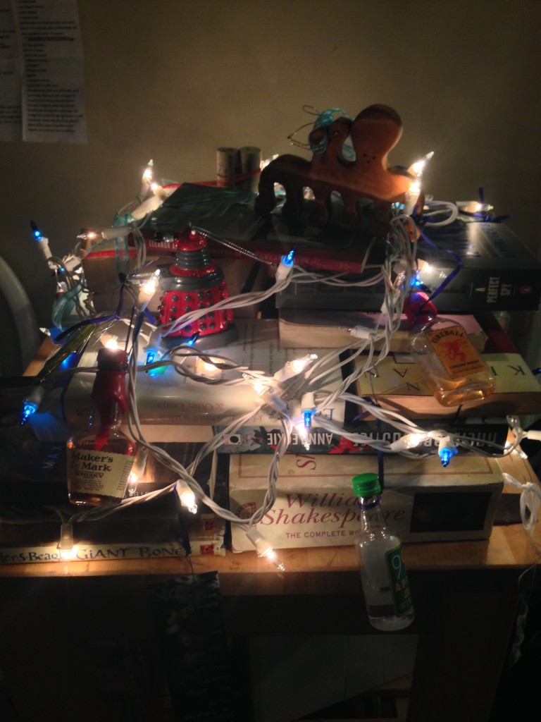 Chanukkah Bush 2015