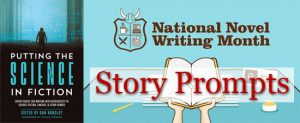 PSIF NaNoWriMo story prompts