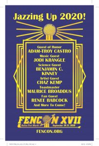 List of FenCon 2019 Guests of Honor